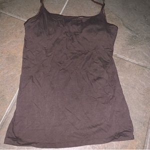 Mossimo brown tank with built in bra